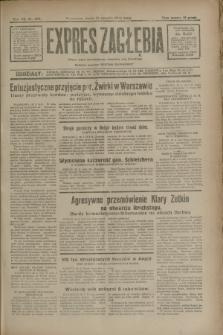 Expres Zagłębia : jedyny organ demokratyczny niezależny woj. kieleckiego. R.7, nr 239 (31 sierpnia 1932)