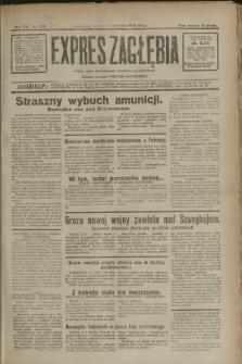 Expres Zagłębia : jedyny organ demokratyczny niezależny woj. kieleckiego. R.7, nr 242 (3 września 1932)