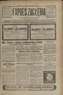 Expres Zagłębia : jedyny organ demokratyczny niezależny woj. kieleckiego. R.7, nr 243 (4 września 1932)