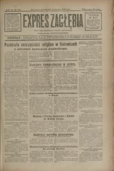 Expres Zagłębia : jedyny organ demokratyczny niezależny woj. kieleckiego. R.7, nr 244 (5 września 1932)