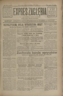 Expres Zagłębia : jedyny organ demokratyczny niezależny woj. kieleckiego. R.7, nr 245 (6 września 1932)