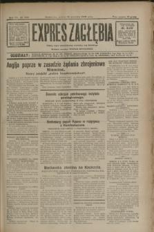 Expres Zagłębia : jedyny organ demokratyczny niezależny woj. kieleckiego. R.7, nr 249 (10 września 1932)