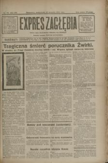 Expres Zagłębia : jedyny organ demokratyczny niezależny woj. kieleckiego. R.7, nr 251 (12 września 1932)