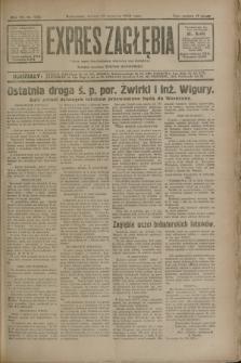 Expres Zagłębia : jedyny organ demokratyczny niezależny woj. kieleckiego. R.7, nr 252 (13 września 1932)