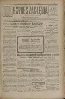 Expres Zagłębia : jedyny organ demokratyczny niezależny woj. kieleckiego. R.7, nr 254 (15 września 1932)