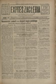 Expres Zagłębia : jedyny organ demokratyczny niezależny woj. kieleckiego. R.7, nr 256 (17 września 1932)