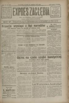 Expres Zagłębia : jedyny organ demokratyczny niezależny woj. kieleckiego. R.7, nr 257 (18 września 1932)