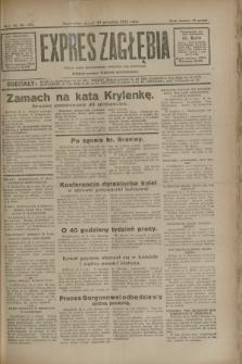 Expres Zagłębia : jedyny organ demokratyczny niezależny woj. kieleckiego. R.7, nr 262 (23 września 1932)