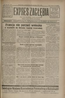 Expres Zagłębia : jedyny organ demokratyczny niezależny woj. kieleckiego. R.7, nr 265 (26 września 1932)