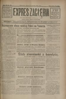 Expres Zagłębia : jedyny organ demokratyczny niezależny woj. kieleckiego. R.7, nr 266 (27 września 1932)