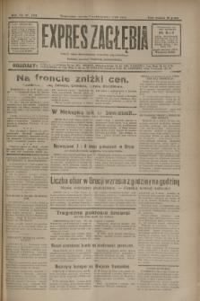 Expres Zagłębia : jedyny organ demokratyczny niezależny woj. kieleckiego. R.7, nr 270 (1 października 1932)