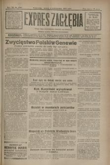 Expres Zagłębia : jedyny organ demokratyczny niezależny woj. kieleckiego. R.7, nr 273 (4 października 1932)