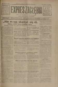 Expres Zagłębia : jedyny organ demokratyczny niezależny woj. kieleckiego. R.7, nr 276 (7 październik 1932)