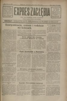 Expres Zagłębia : jedyny organ demokratyczny niezależny woj. kieleckiego. R.7, nr 287 (19 października 1932)