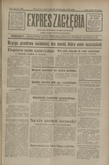 Expres Zagłębia : jedyny organ demokratyczny niezależny woj. kieleckiego. R.7, nr 299 (31 października 1932)