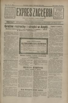 Expres Zagłębia : jedyny organ demokratyczny niezależny woj. kieleckiego. R.7, nr 300 (1 listopada 1932)