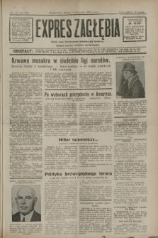 Expres Zagłębia : jedyny organ demokratyczny niezależny woj. kieleckiego. R.7, nr 310 (11 listopada 1932)