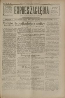 Expres Zagłębia : jedyny organ demokratyczny niezależny woj. kieleckiego. R.7, nr 311 (12 listopada 1932)