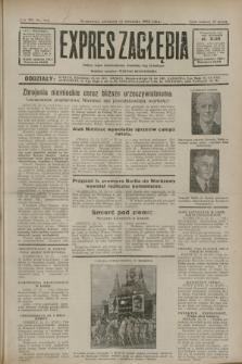 Expres Zagłębia : jedyny organ demokratyczny niezależny woj. kieleckiego. R.7, nr 312 (13 listopada 1932)