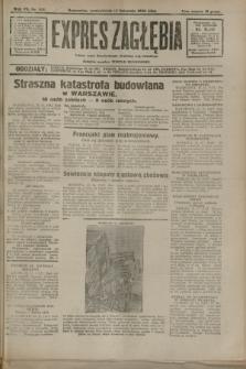 Expres Zagłębia : jedyny organ demokratyczny niezależny woj. kieleckiego. R.7, nr 313 (14 listopada 1932)