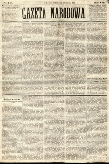 Gazeta Narodowa. 1874, nr140