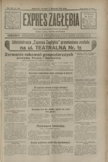 Expres Zagłębia : jedyny organ demokratyczny niezależny woj. kieleckiego. R.7, nr 316 (17 listopada 1932)