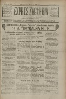 Expres Zagłębia : jedyny organ demokratyczny niezależny woj. kieleckiego. R.7, nr 317 (18 listopada 1932)