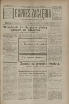 Expres Zagłębia : jedyny organ demokratyczny niezależny woj. kieleckiego. R.7, nr 320 (21 listopada 1932)