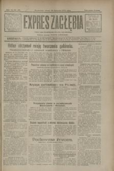 Expres Zagłębia : jedyny organ demokratyczny niezależny woj. kieleckiego. R.7, nr 321 (22 listopada 1932)