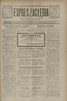 Expres Zagłębia : jedyny organ demokratyczny niezależny woj. kieleckiego. R.7, nr 322 (23 listopada 1932)