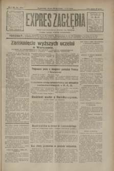 Expres Zagłębia : jedyny organ demokratyczny niezależny woj. kieleckiego. R.7, nr 329 (30 listopada 1932)