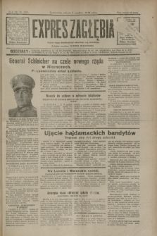 Expres Zagłębia : jedyny organ demokratyczny niezależny woj. kieleckiego. R.7, nr 332 (3 grudnia 1932)