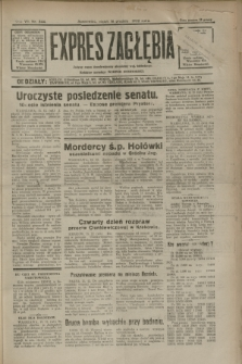 Expres Zagłębia : jedyny organ demokratyczny niezależny woj. kieleckiego. R.7, nr 344 (16 grudnia 1932)