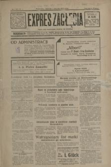 Expres Zagłębia : jedyny organ demokratyczny niezależny woj. kieleckiego. R.8, nr 1 (1 stycznia 1933)