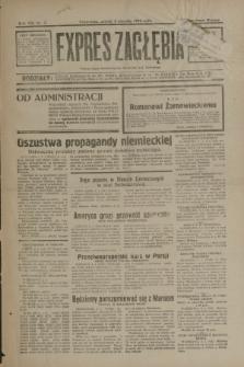 Expres Zagłębia : jedyny organ demokratyczny niezależny woj. kieleckiego. R.8, nr 3 (3 stycznia 1933)