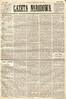 Gazeta Narodowa. 1874, nr144