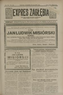 Expres Zagłębia : jedyny organ demokratyczny niezależny woj. kieleckiego. R.8, nr 147 (29 maja 1933)
