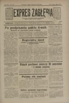 Expres Zagłębia : jedyny organ demokratyczny niezależny woj. kieleckiego. R.8, nr 157 (9 czerwca 1933)