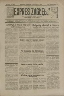 Expres Zagłębia : jedyny organ demokratyczny niezależny woj. kieleckiego. R.8, nr 160 (12 czerwca 1933)