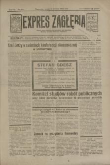 Expres Zagłębia : jedyny organ demokratyczny niezależny woj. kieleckiego. R.8, nr 161 (13 czerwca 1933)