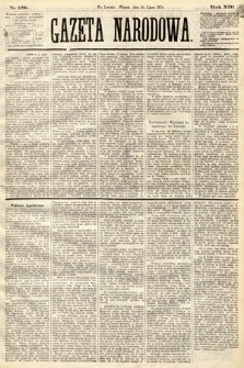 Gazeta Narodowa. 1874, nr158