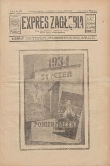 Expres Zagłębia : jedyny organ demokratyczny niezależny woj. kieleckiego. R.9, nr 358 (1 stycznia 1934)