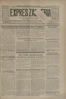 Expres Zagłębia : jedyny organ demokratyczny niezależny woj. kieleckiego. R.9, nr 14 (15 stycznia 1934)