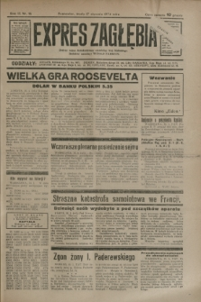Expres Zagłębia : jedyny organ demokratyczny niezależny woj. kieleckiego. R.9, nr 16 (17 stycznia 1934)