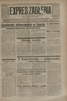 Expres Zagłębia : jedyny organ demokratyczny niezależny woj. kieleckiego. R.9, nr 17 (18 stycznia 1934)