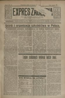 Expres Zagłębia : jedyny organ demokratyczny niezależny woj. kieleckiego. R.9, nr 18 (19 stycznia 1934)