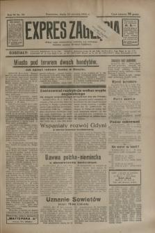 Expres Zagłębia : jedyny organ demokratyczny niezależny woj. kieleckiego. R.9, nr 23 (24 stycznia 1934)