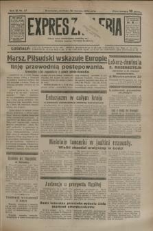 Expres Zagłębia : jedyny organ demokratyczny niezależny woj. kieleckiego. R.9, nr 27 (28 stycznia 1934)