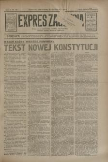 Expres Zagłębia : jedyny organ demokratyczny niezależny woj. kieleckiego. R.9, nr 28 (29 stycznia 1934)