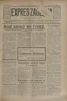 Expres Zagłębia : jedyny organ demokratyczny niezależny woj. kieleckiego. R.9, nr 30 (31 stycznia 1934)